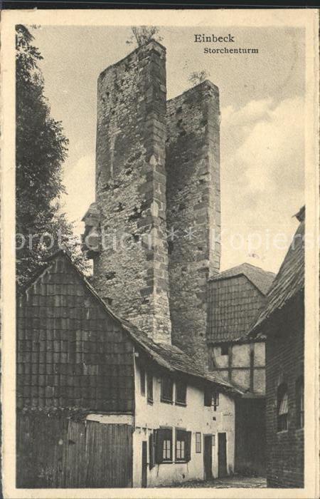 Einbeck Niedersachsen Storchenturm Kat. Einbeck