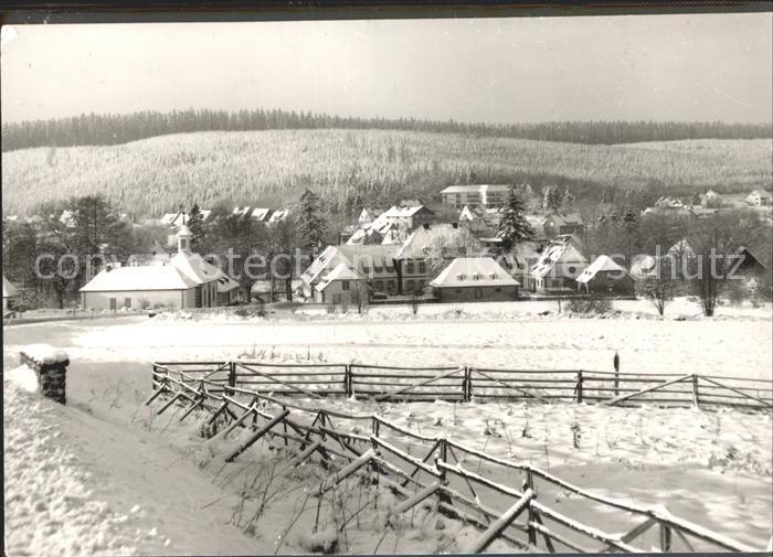 Neuhaus Solling Solling im Winter Kat. Holzminden