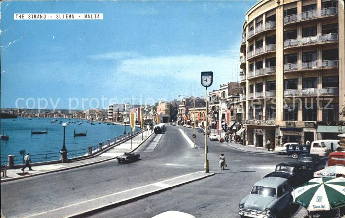 Sliema Strand Promenade Kat. Sliema