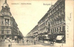Budapest Andrassy Strasse Kat. Budapest