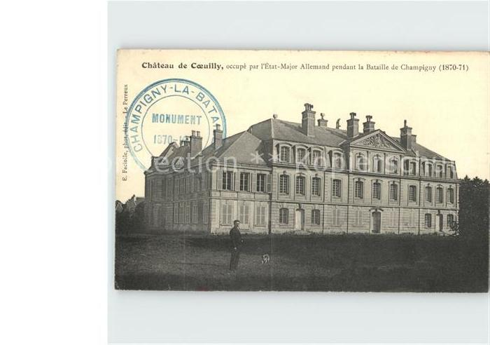 Champigny Chateau de Coeuilly Kat. Champigny