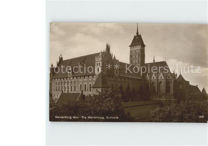 Malbork Marienburg  Kat. Marienburg Westpreussen
