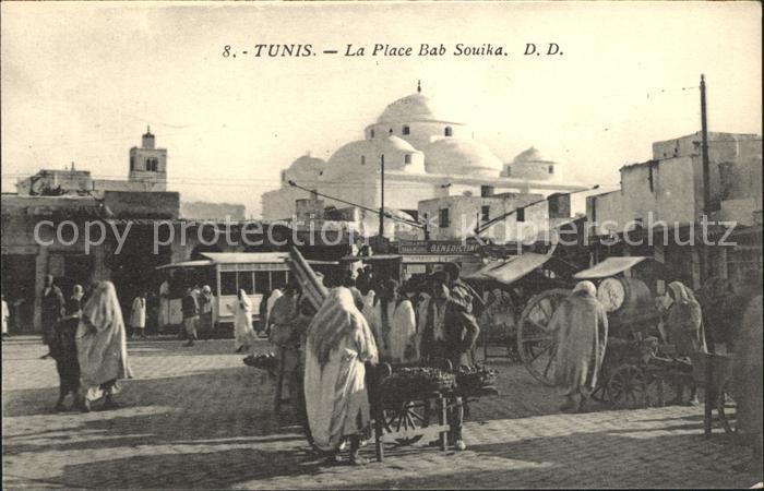 Tunis Place Bab Souika Kat. Tunis