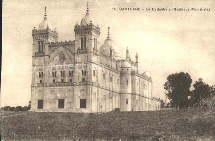 Carthage Karthago Cathedrale Basilique Primatiale Kat. Tunis