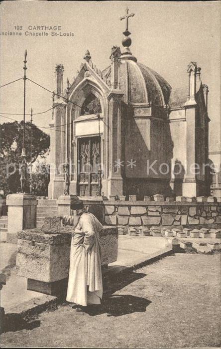 Carthage Karthago Ancienne Chapelle St. Louis Kat. Tunis
