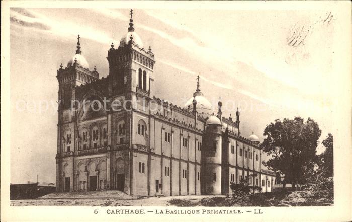 Carthage Karthago Basilique Primatiale Kat. Tunis