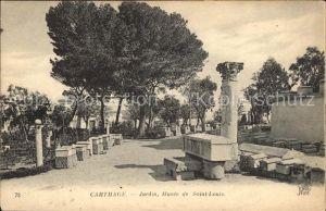 Carthage Karthago Jardin Musee Saint Louis Kat. Tunis
