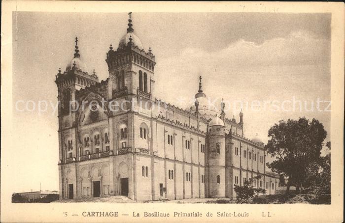 Carthage Karthago Basilique Primatiale Saint Louis Kat. Tunis
