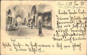 Tunis Le Souk El Attarine Kat. Tunis