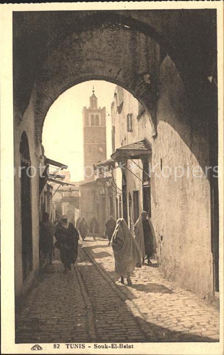 Tunis Souk El Belat  Kat. Tunis