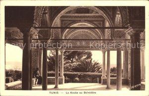 Tunis La Kouba au Belvedere  Kat. Tunis