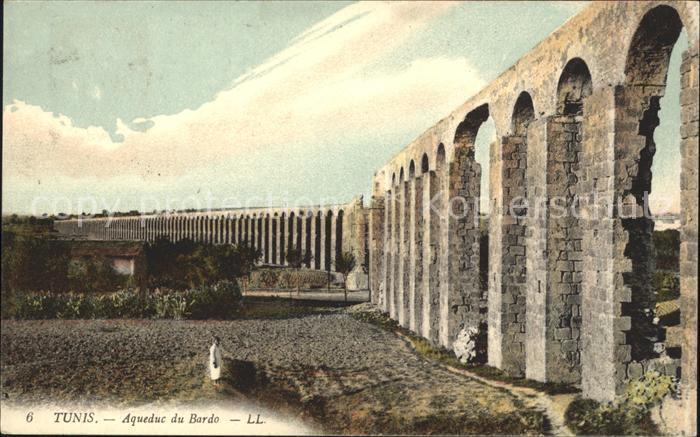 Tunis Aqueduc du Bardo Kat. Tunis