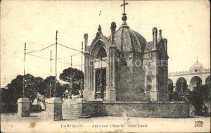 Carthage Karthago Ancienne Chapelle Saint Louis Kat. Tunis