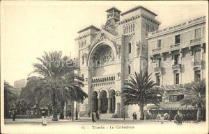 Tunis Cathedrale  Kat. Tunis