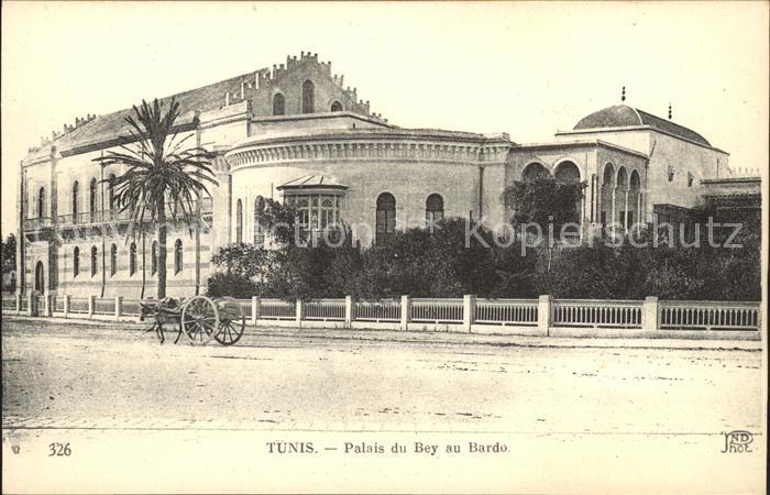 Tunis Palais du Bey au Bardo Kat. Tunis