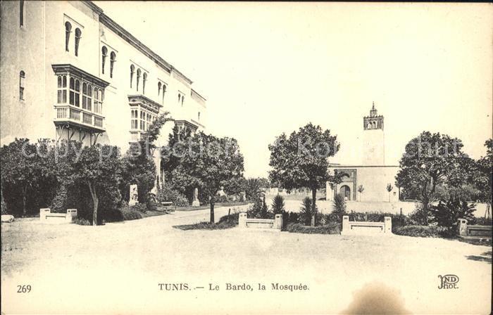 Tunis Bardo Mosquee  Kat. Tunis