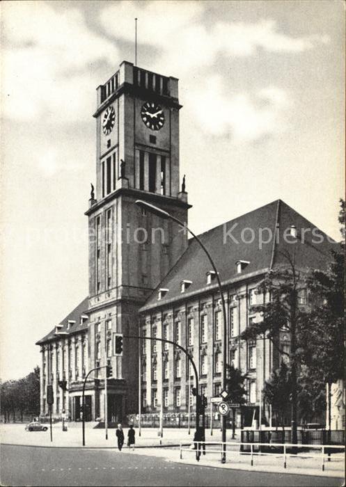 Schoeneberg Berlin Rathaus  Kat. Berlin