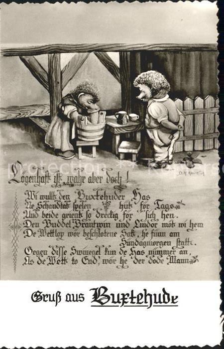 Buxtehude Gedicht Igel Kat. Buxtehude