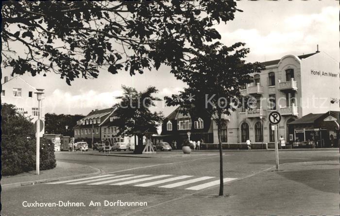 Duhnen Nordsee Dorfbrunnen Hotel Am Meer