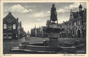 Husum Nordfriesland Markt Brunnen / Husum /Nordfriesland LKR