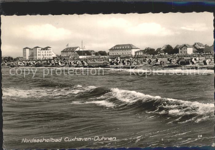 Duhnen Nordsee Meer Strand / Cuxhaven /Cuxhaven LKR