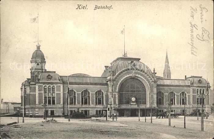 Kiel Bahnhof Kat. Kiel