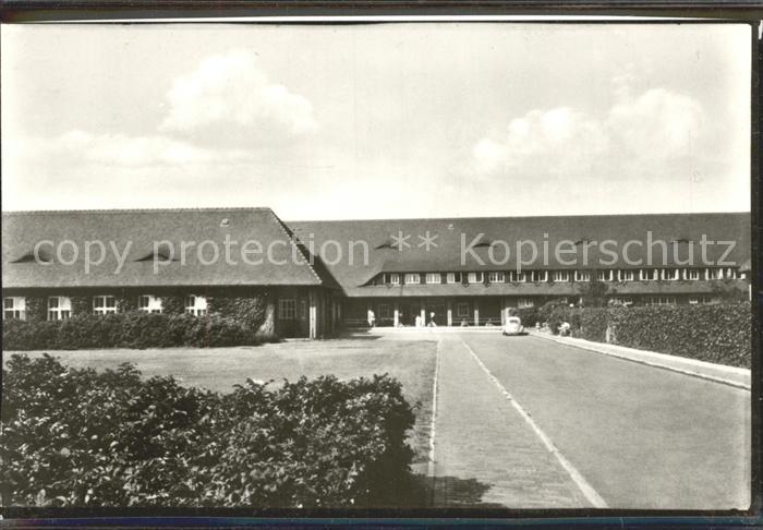 Westerland Sylt Nordsee Sanatorium Kat. Westerland