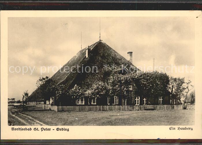 St Peter Ording Hauberg Kat. Sankt Peter Ording