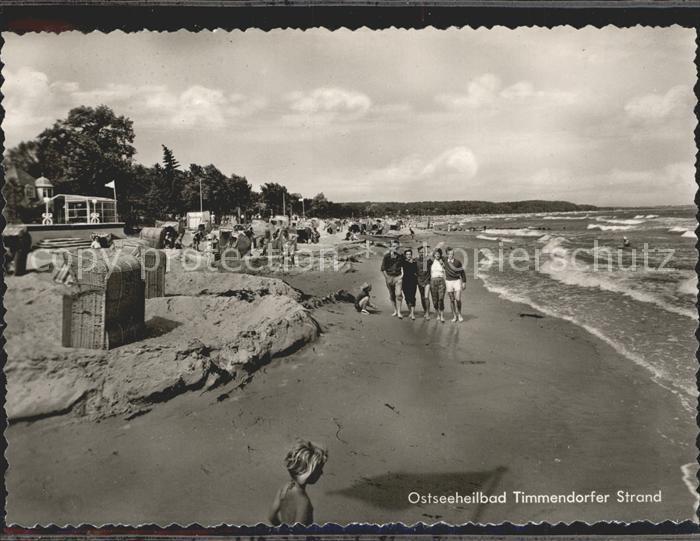 Timmendorfer Strand Strand Kat. Timmendorfer Strand
