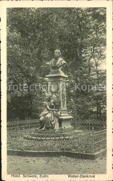 42084828 Eutin Carl Maria v Weber Denkmal Eutin Eutin