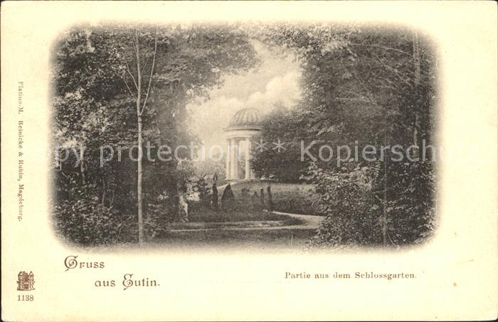 Eutin Partie im Schlossgarten Pavillon Kat. Eutin