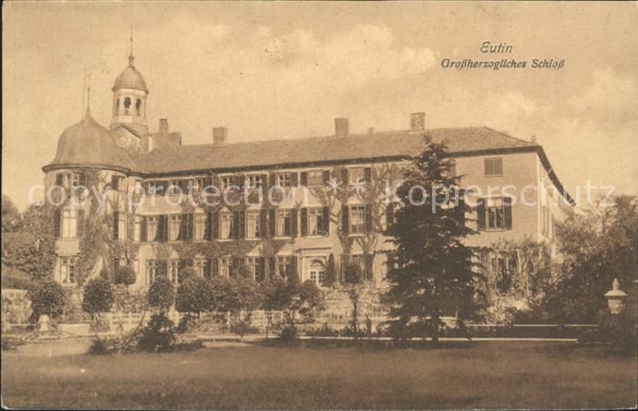Eutin Grossherzogl Schloss Kat. Eutin