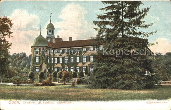 Eutin Grossherzogl Schloss Gartenfront Kat. Eutin