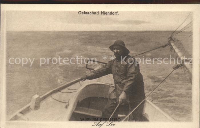Niendorf Ostseebad Fischer Boot Kat. Timmendorfer Strand