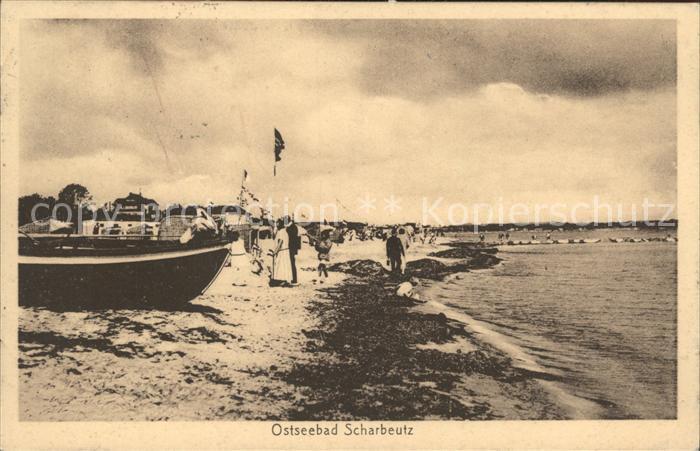 Scharbeutz Ostseebad Strandpartie Kat. Scharbeutz