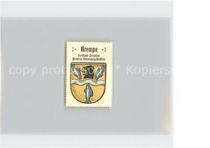 Krempe Holstein Wappen Kat. Krempe