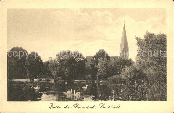 Eutin Rosenstadt Stadtbucht  Kat. Eutin
