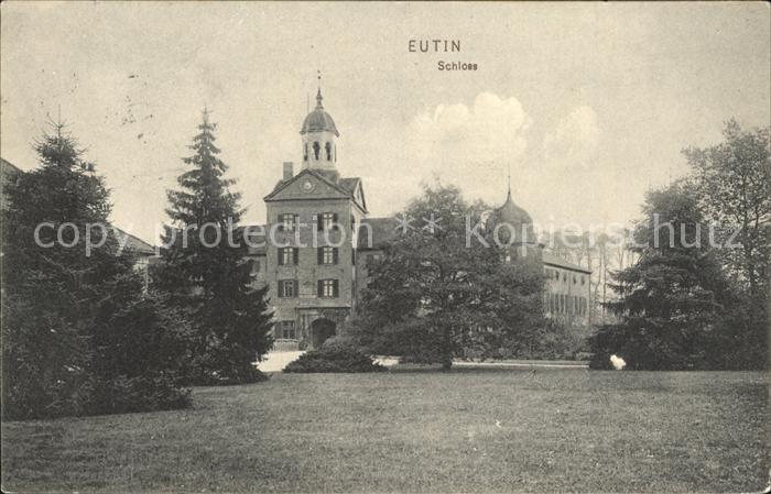 Eutin Schloss Kat. Eutin