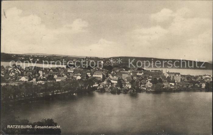 Ratzeburg Stadt Kat. Ratzeburg