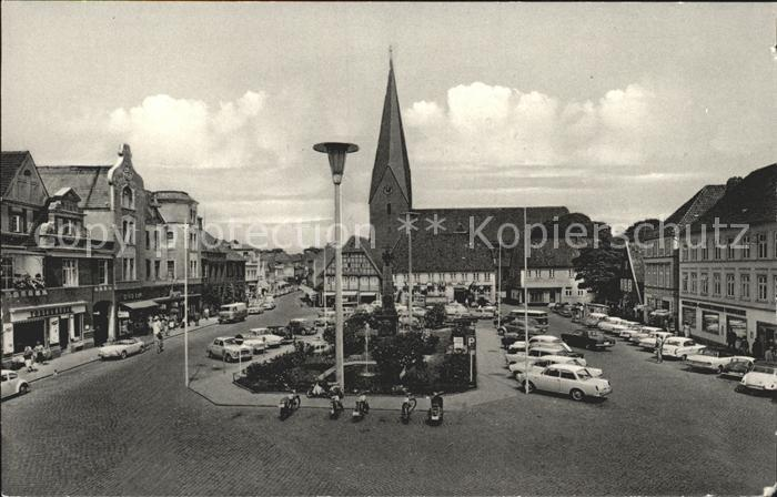 Eutin Markt Kirche  Kat. Eutin