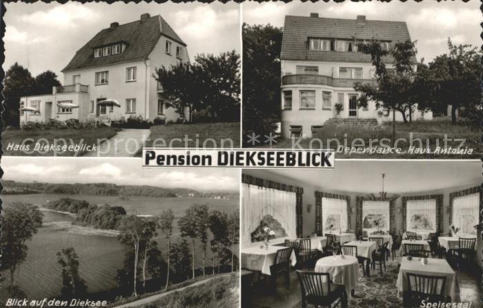 Malente Gremsmuehlen Pension Diekseeblick Dependance Haus Antonia  Speisesaal Kat. Malente 0