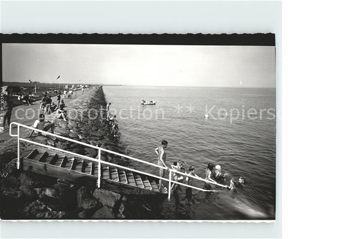 Altenbruch Strand Treppe Kat. Cuxhaven