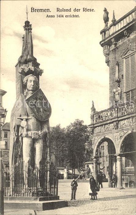 Bremen Roland der Riese Kat. Bremen
