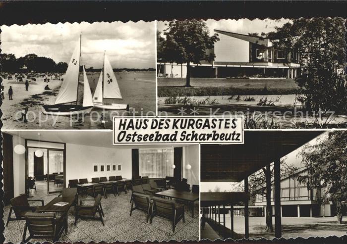 Scharbeutz Ostseebad Haus des Kurgastes Kat. Scharbeutz