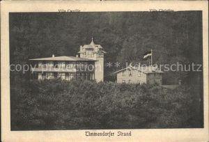 Timmendorfer Strand Villa Caecilie Villa Christine Kat. Timmendorfer Strand