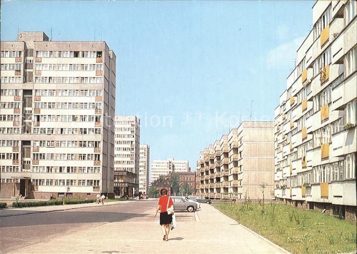 Wroclaw Osiedle mieszkaniowe Zachod ulica Kruszwicka Kat. Wroclaw Breslau