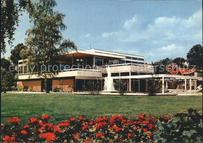 Eutin Haus des Kurgastes Rosenstadt Kat. Eutin