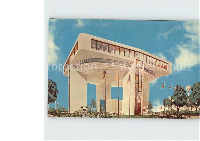 New York City Heliport and Exhibit Building New York World's Fair 1964-1965 Illustration / New York /