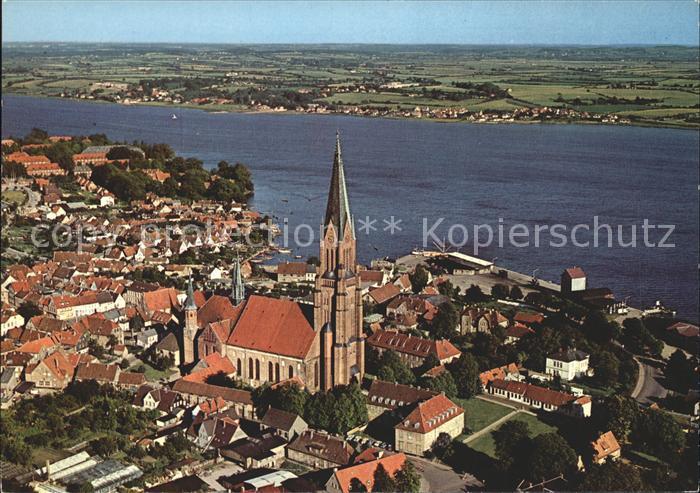 Schleswig Holstein Fliegeraufnahme St. Petri Dom Kat. Schleswig