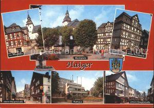 Haiger Marktplatz Haus Fischbach Hauptstrasse Kat. Haiger